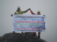 Rock Climbing Photo: Top of Carstensz Pyramid