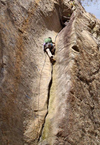 Rock Climbing Photo: Pimpin.  6b+