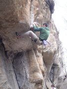 Rock Climbing Photo: Step 2: get on up