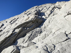Rock Climbing Photo: This is a closer shot of the start of the route. T...