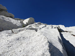 Rock Climbing Photo: One can stay right here in the dihedral or hop up ...