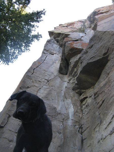 Rock Climbing Photo: Touch No Evil