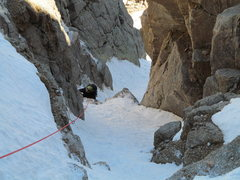 Rock Climbing Photo: The little mixed bits go at about M1, there is a M...