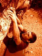 Rock Climbing Photo: Jesus Boulder, Ibex