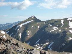 Rock Climbing Photo: Hurricane Peak 13447'