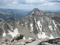 Rock Climbing Photo: Grizzly Peak 13738'