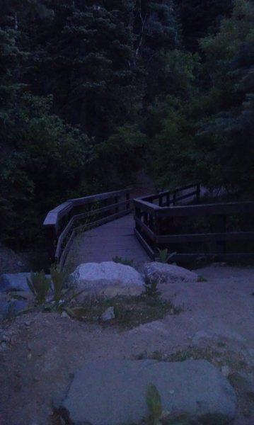 Rock Climbing Photo: Bridge