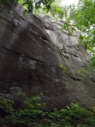 Rock Climbing Photo: Jimmy Jazz on mean streak and that black slab is B...
