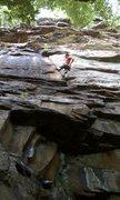 Rock Climbing Photo: Nick Onsighting Lie Back and Enjoy It