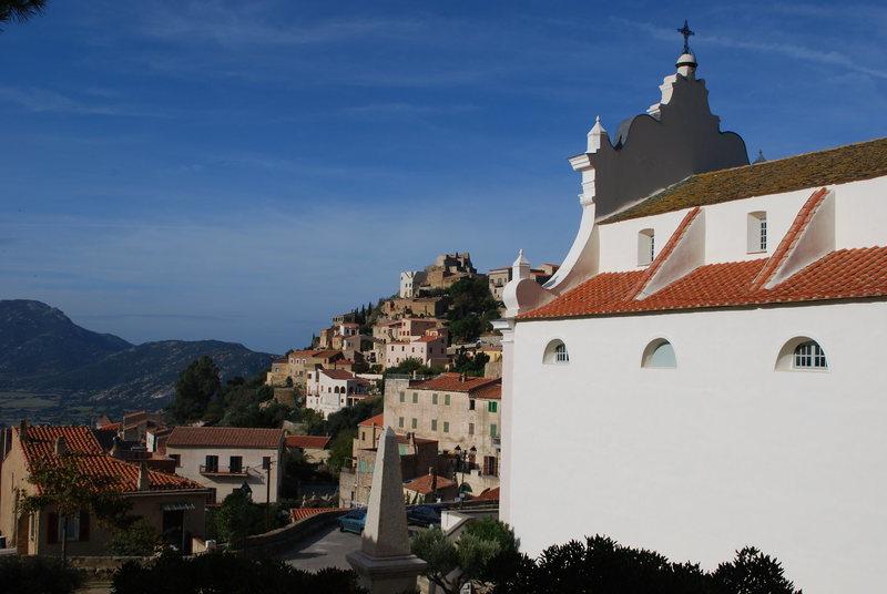 Small town near Calvi, Corsica