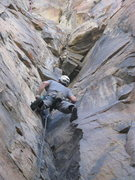 Rock Climbing Photo: Rich Magner on FA