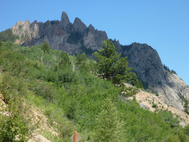 Ophir Needle and Yodel arete
