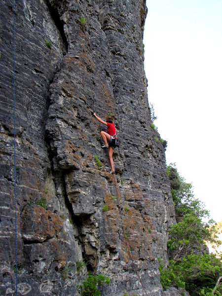 Rock Climbing Photo: Late For Dinner