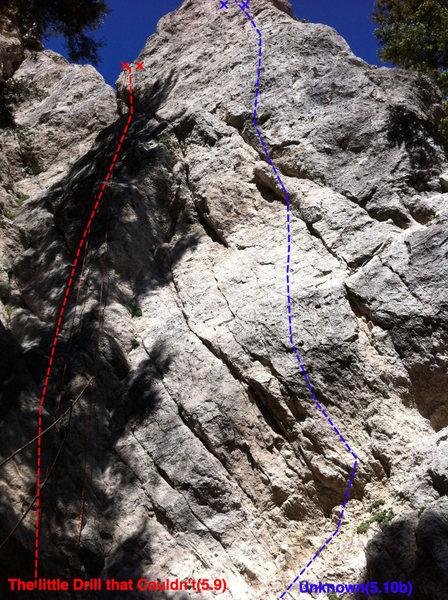 Rock Climbing Photo: Unknown Topo