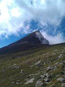 Rock Climbing Photo: South Arapahoe Peak.