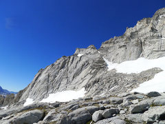 Rock Climbing Photo: first portion of the E Arete