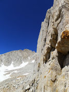 Rock Climbing Photo: south side of the arete