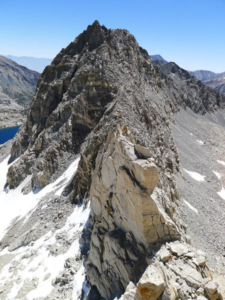 Rock Climbing Photo: looking east