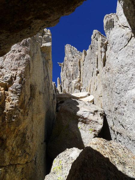 Rock Climbing Photo: tunnel