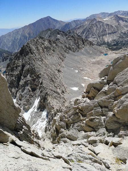 Rock Climbing Photo: looking down the ramp