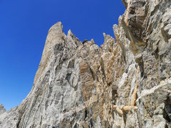 Rock Climbing Photo: I traversed around this tower as the rock didn't l...