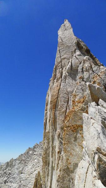 Rock Climbing Photo: crux headwall