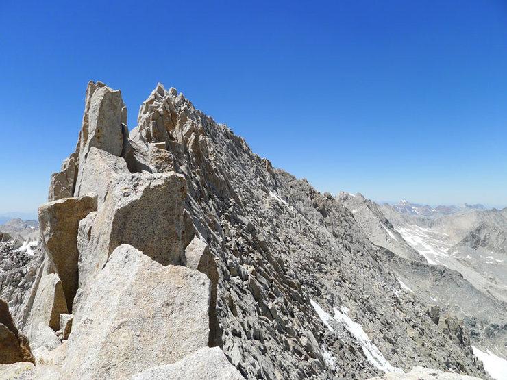 """Rock Climbing Photo: Sierra """"class 4"""""""