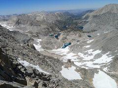 Rock Climbing Photo: descent via the NE Ridge (Dade, Treasure and Gem L...