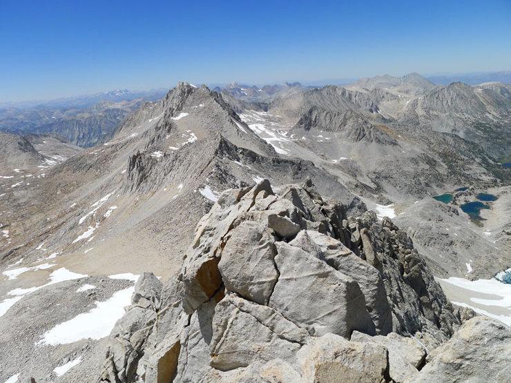 Rock Climbing Photo: looking toward Dade from the summit