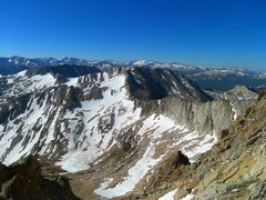 Rock Climbing Photo: Sawmill approach to Conness on 6/17