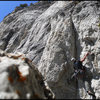 Negotiating the thin crux on Klein's Girls