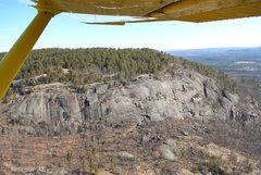 Rock Climbing Photo: Potter Mountain Cliff.