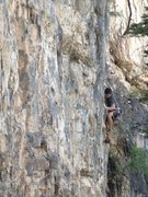 Rock Climbing Photo: Analog.