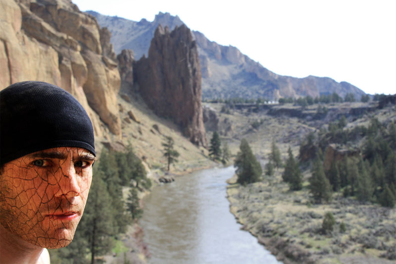 Rock Climbing Photo: He became one with smith rock