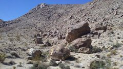 49 Palms Canyon Boulders (right side)