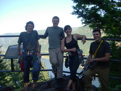 Rock Climbing Photo: Climbing crew for the day