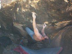 Rock Climbing Photo: 3 move v9