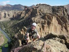 Rock Climbing Photo: Jason and the Monkey