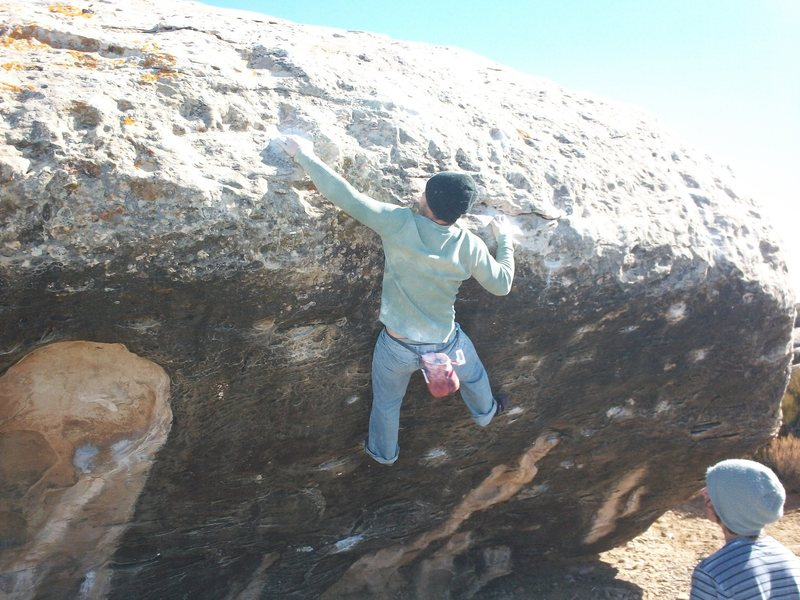Rock Climbing Photo: one of the best in triassic