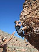 Rock Climbing Photo: red rocks bouldering