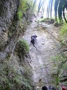 Rock Climbing Photo: No kitty, bad kitty
