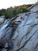 Rock Climbing Photo: LeAnn:  clean up on aisle End Run