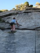 Rock Climbing Photo: End Run variation finish to the right then up the ...