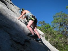 Rock Climbing Photo: Nice friction on Flee Flicker