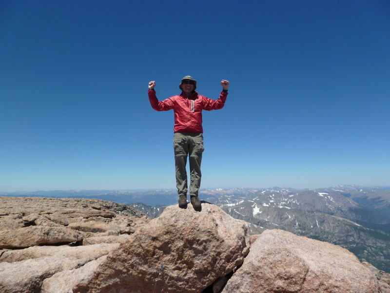 Summit of Longs, 4th time.