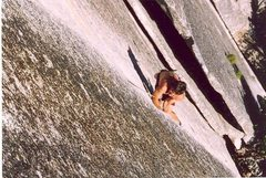 Rock Climbing Photo: beautiful crack in yosemite valley