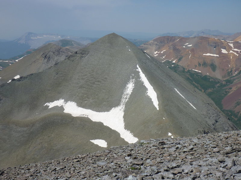 Rock Climbing Photo: South Twin Sister 13374' from North Twin Sister (n...