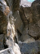 Rock Climbing Photo: The beautiful, yet short, crack section that is Ar...