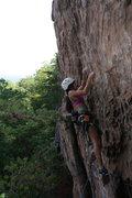 Rock Climbing Photo: Rising Sun Wall  No Added Weight(5.10) sport  Crow...