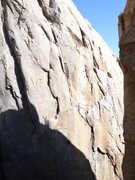 Rock Climbing Photo: Anduril on the right side. That hanging square roc...